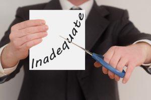 inadeguatezza